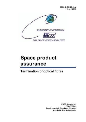 (normative) Report on fibre optic cable assembly - European ...