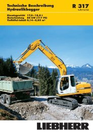 Tieflöffel-Ausrüstung - Gerhard Schwickert Baumaschinen und ...
