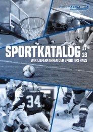 VertriebsArena Sportkatalog 17/18