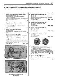 4. Katalog der Münzen der Römischen Republik - Gietl Verlag