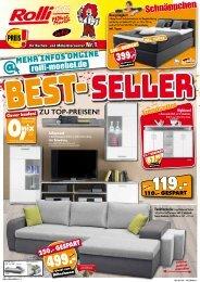 Best-Seller zu Top-Preisen bei Rolli SB-Möbelmarkt in 65604 Elz