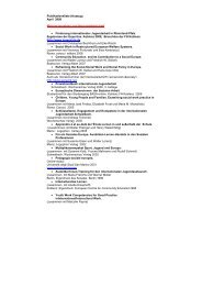 Publikationsliste (Auszug) April 2008 Monogragraphien und ...