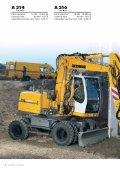 A 314 A 316 Excavadoras sobre ruedas - Page 2