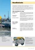 A 314 A 316 Excavadoras sobre ruedas - Page 5