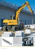 A 314 A 316 Excavadoras sobre ruedas - Page 6