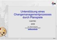 PDF (1.025 KB) - riva training & consulting GmbH