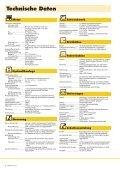 Abmessungen und Gewichte - Seite 2