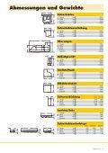 Abmessungen und Gewichte - Seite 7