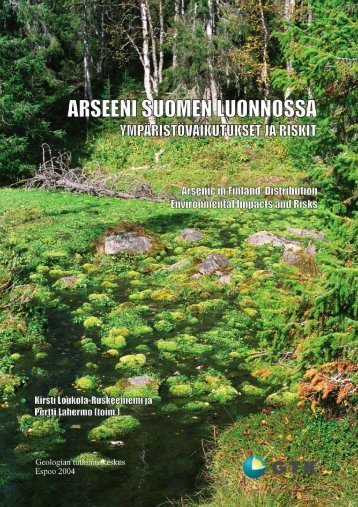 arseeni järvisedimenteissä - arkisto.gsf.fi - Geologian tutkimuskeskus