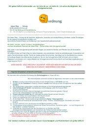 Hausordnung ist hier als PDF - Adam-Ries-Grundschule
