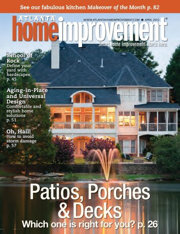 Patios, Porches & Decks