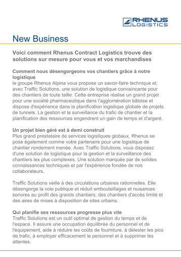 Voici comment Rhenus Contract Logistics trouve des solutions sur ...