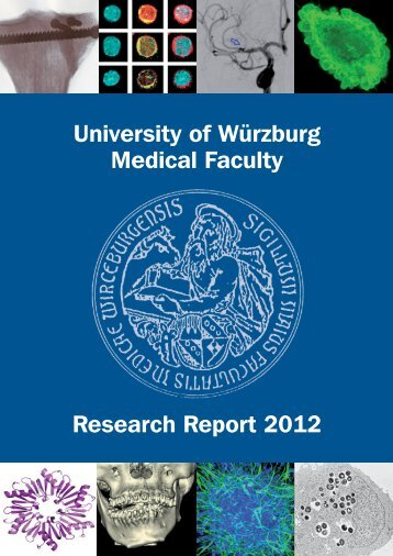 University of Würzburg Medical Faculty Research Report 2012