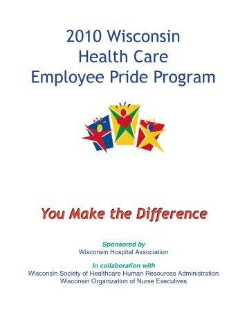 2010 Wisconsin Health Care Employee Pride Program