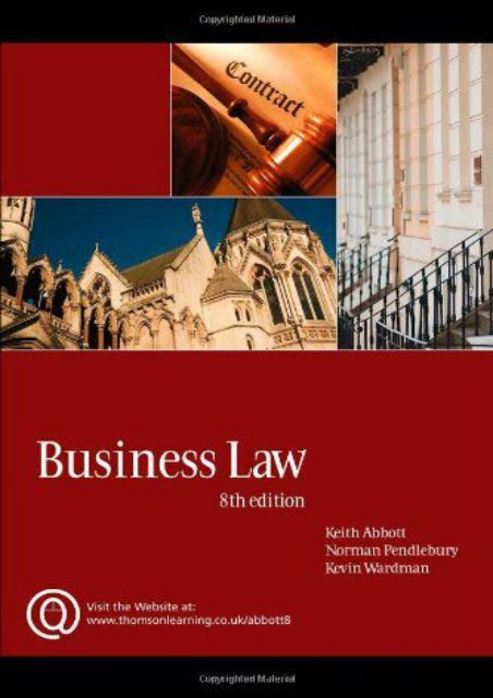 Unlimited Read and Download Business Law -  Populer ebook - By Keith Abbott