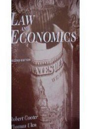 Best PDF Law and Economics -  For Ipad - By Robert D. Cooter