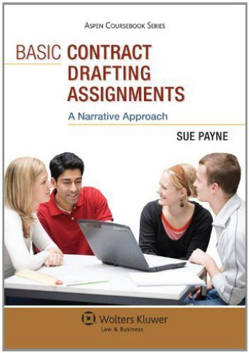 drafting contracts assignment 5 Class presented with its first contract drafting assignment although the ultimate goal of the assignment is a contract, there are some additional assignments used to help students learn related material.