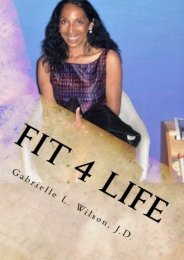 Full Download Fit 4 Life: Fitness On Your Own Terms -  Populer ebook - By JD, Gabrielle L Wilson