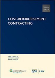 Best PDF Cost-Reimbursement Contracting -  Unlimed acces book - By Ralph C Nash Jr