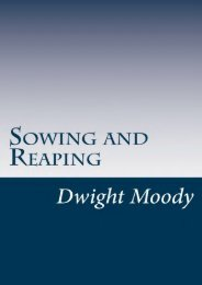 Unlimited Read and Download Sowing and Reaping -  Best book - By Dwight Lyman Moody