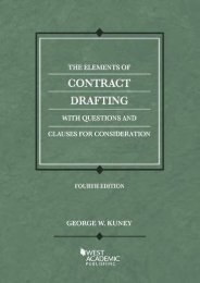 Full Download The Elements of Contract Drafting (American Casebook Series) -  Online - By George Kuney