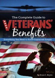 Best PDF The Complete Guide to Veterans  Benefits: Everything You Need to Know Explained Simply -  Online - By Bruce C Brown