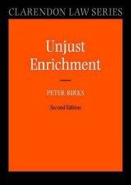 Read PDF Unjust Enrichment (Clarendon Law Series) -  [FREE] Registrer - By Peter Birks