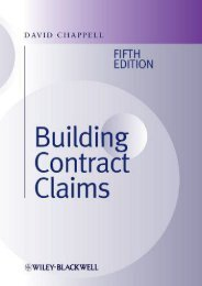 Read PDF Building Contract Claims -  [FREE] Registrer - By David Chappell