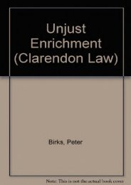 Unlimited Ebook Unjust Enrichment (Clarendon Law Series) -  Online - By Peter Birks