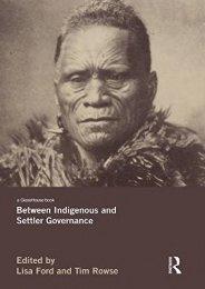 Full Download Between Indigenous and Settler Governance -  Populer ebook - By