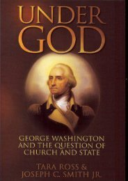 Unlimited Read and Download Under God: George Washington and the Question of Church and State -  Populer ebook - By Tara Ross
