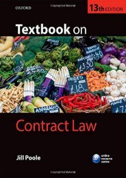 Full Download Textbook on Contract Law -  Populer ebook - By Jill Poole