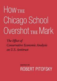 Read PDF How the Chicago School Overshot the Mark: The Effect of Conservative Economic Analysis on U.S. Antitrust -  Best book - By