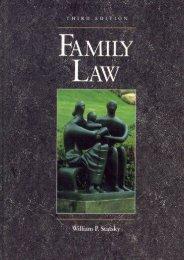 Read PDF Family Law -  [FREE] Registrer - By William P. Statsky