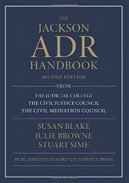 Best PDF The Jackson ADR Handbook -  Unlimed acces book - By Susan Blake