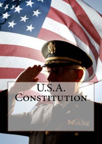 Full Download U.S.A. Constitution -  Unlimed acces book - By Founding Fathers