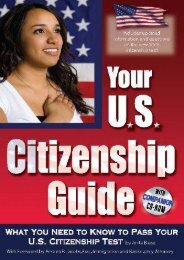 Download Ebook Your U.S. Citizenship Guide: What You Need to Know to Pass Your U.S. Citizenship Test -  Unlimed acces book - By Anita Biase