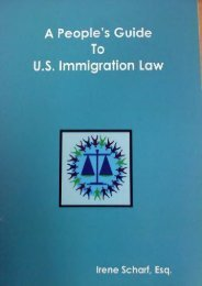 Read PDF A People s Guide to U.S. Immigration Law -  Online - By