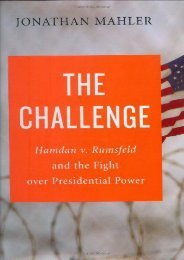 Unlimited Ebook The Challenge: Hamdan V. Rumsfeld and the Fight Over Presidential Power -  [FREE] Registrer - By Jonathan Mahler
