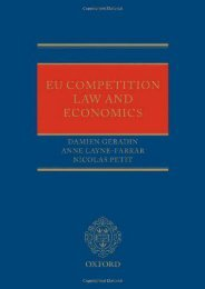 Full Download EU Competition Law and Economics (0) -  Best book - By Damien Geradin