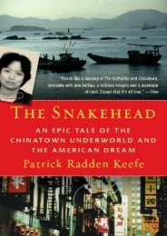 [Free] Donwload The Snakehead: An Epic Tale of the Chinatown Underworld and the American Dream -  For Ipad - By Patrick Radden Keefe