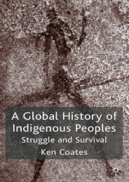 [Free] Donwload A Global History of Indigenous Peoples: Struggle and Survival -  Populer ebook - By Ken S. Coates