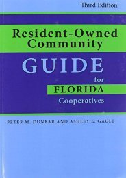 Download Ebook Resident-Owned Community Guide for Florida Cooperatives -  Best book - By Peter Dunbar