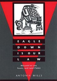 Full Download Eagle Down Is Our Law: Witsuwit en Law, Feasts, and Land Claims -  Best book - By Antonia Mills
