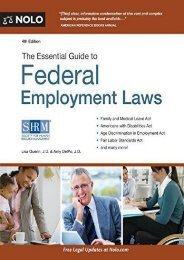 [Free] Donwload The Essential Guide to Federal Employment Laws + Website -  Online - By Lisa Guerin