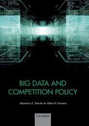 Unlimited Read and Download Big Data and Competition Policy -  Populer ebook - By Maurice Stucke