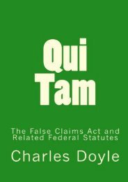 Read PDF Qui Tam: The False Claims Act and Related Federal Statutes -  Online - By