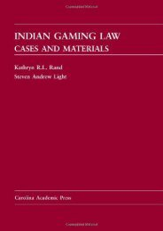 [Free] Donwload Indian Gaming Law: Cases and Materials -  For Ipad - By Kathryn R. L. Rand