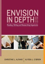 Unlimited Ebook Envision in Depth: Reading, Writing, and Researching Arguments -  Unlimed acces book - By Christine L. Alfano