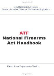 Full Download ATF National Firearms Act Handbook -  Populer ebook - By
